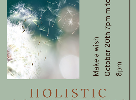 Holistic connections - make a wish