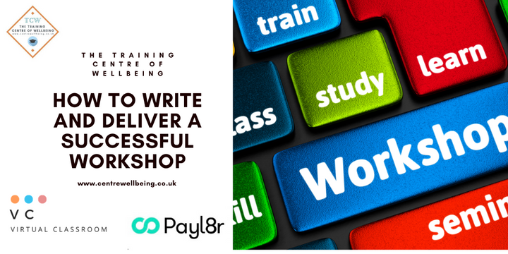 How to write and deliver a successful workshop