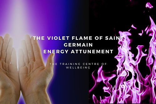 The Violet Flame of Saint Germain DIstance Energy Attunement