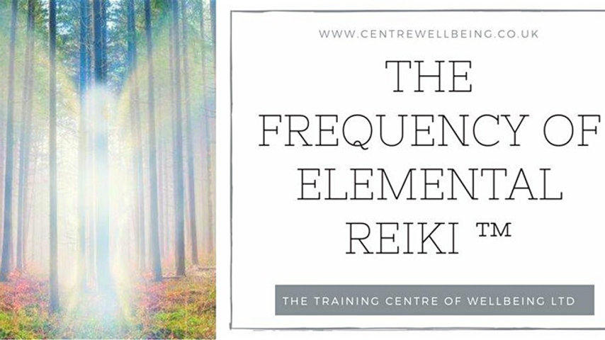 The Frequency of Elemental Reiki ™ Tuning Fork Practitioner £375