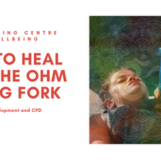 Healing with the mid ohm tuning fork