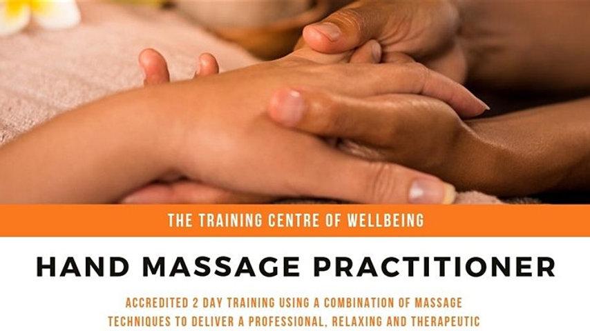 Hand Massage Practitioner £175