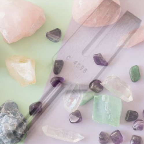 Crystals and Tuning Fork Therapy - CPD and self development - UK Shipping