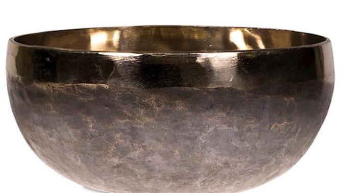 Singing bowl Ishana black/golden