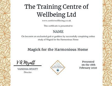 Magick for the Harmonious Home.jpg