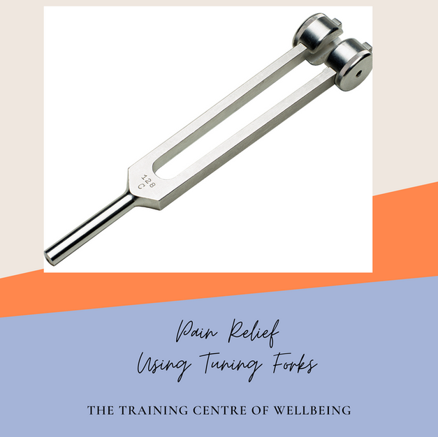 Self Healing for pain with tuning fork 128Hz