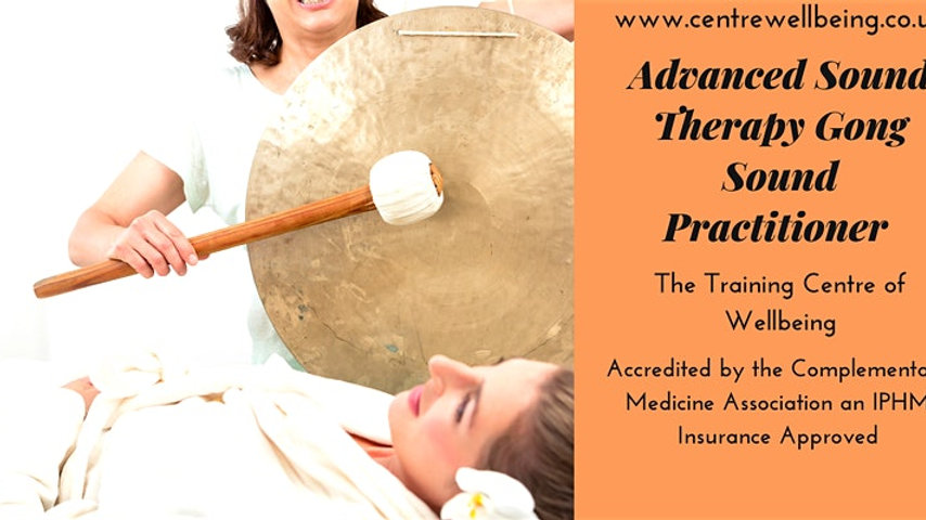 Advanced Sound Therapy Gong Sound Practitioner £450