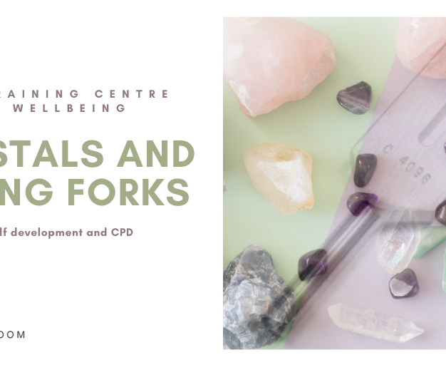 Crystals and Tuning Fork Therapy