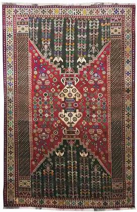 OCCASIONI – Tappeto Orientale Annodato a ManoGashkay- 254x173 cm