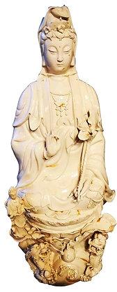 Quanyn - Porcellana Bianca Antica - Cina