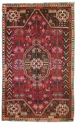 OCCASIONI – Tappeto Orientale Annodato a ManoGashkay Persia -278x167cm