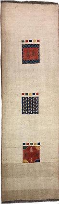 OCCASIONI – Tappeto Orientale Annodato a Mano Gabbeh - 301x920