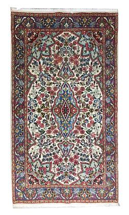 OCCASIONI – Tappeto Orientale Annodato a Mano Kirman Persia - 230x121 cm