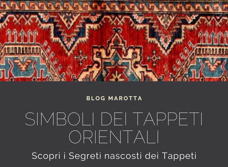 I Simboli dei Tappeti Orientali
