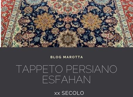 TAPPETO PERSIANO ESFAHAN - XX SECOLO