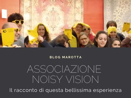 Abbiamo ospitato l'associazione NoisyVision... ti racconto questa esperienza davvero magnifica!