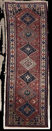 OCCASIONI – Tappeto Orientale Annodato a Mano Yalameh - 287x80