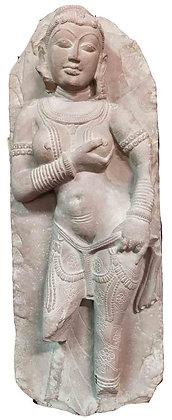 SCULTURA DEA PARVATI INDIA, IMPERO MARATHA (XVII-XIX sec.)
