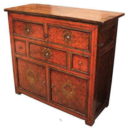 Cabinet Tibetano - 143 × 58 × 128 cm