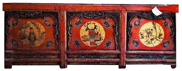 Credenza Gansu - Mongolia - XIX Secolo 249x48x86