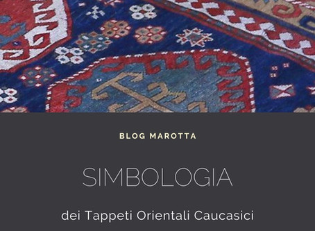 Tappeti orientali caucasici: la simbologia