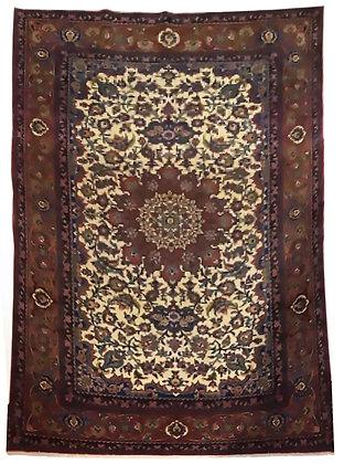 Tappeto Persiano Esfahan - Iran - 196 x 136 cm