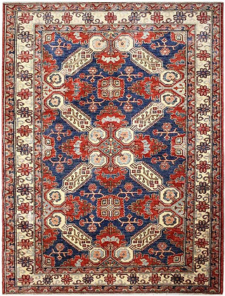 Tappeto Kazak - 225 × 182 cm
