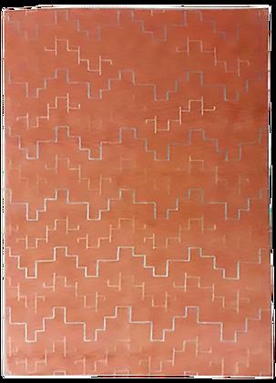 India/Nepal - Tappeto Orientale Annodato a Mano - 240 x 168 cm