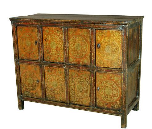 Cabinet Tibetano XIX secolo circa - 118 × 50 × 98 cm