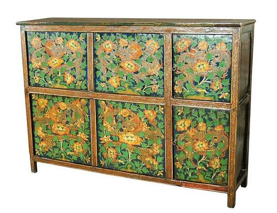 Cabinet Tibetano - 166 × 66 × 119 cm