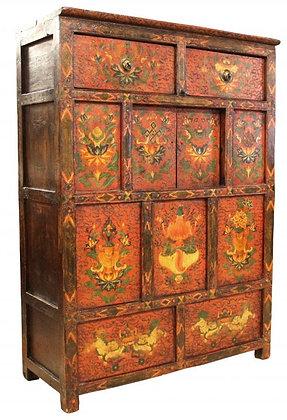 Cabinet Tibetano - 107 × 44 × 149 cm