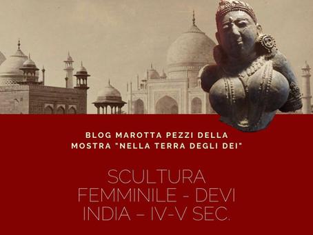 SCULTURA FEMMINILE - DEVI - INDIA – IV-V sec
