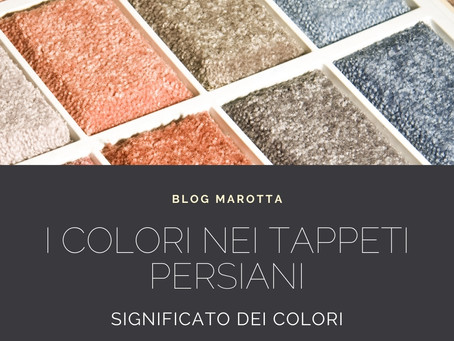 Significato dei colori nei tappeti