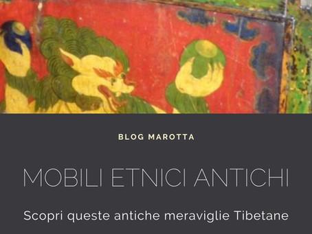 I Mobili Etnici Antichi Tibetani