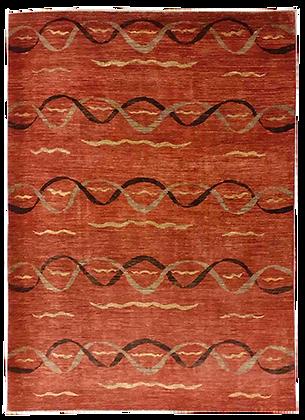 Modcar - Colori Vegetali - Tappeto Orientale Annodato a Mano - 235 x 170 cm