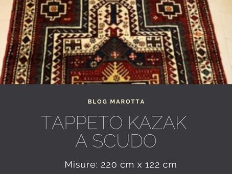 TAPPETO KAZAK A SCUDO - ARMENIA – CAUCASO