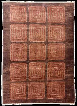Gabbeh Uzbeco - Tappeto Orientale Annodato a Mano - 222 x 180 cm