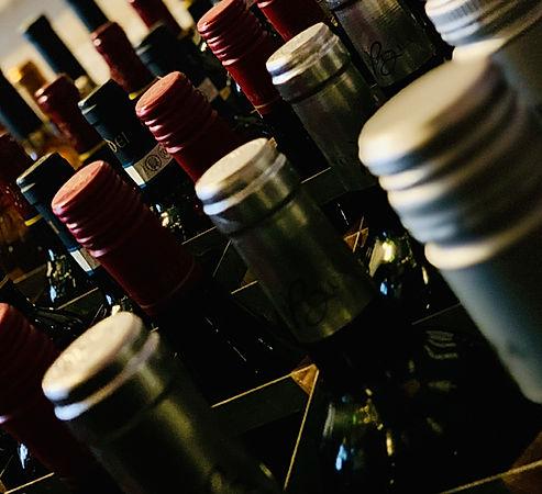 The Wallow Norwich Wine Bar Rack Bottle