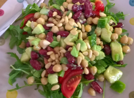 Summer Speedy Bean Salad
