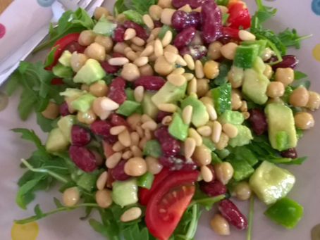 Summer Speedy Bean Salad