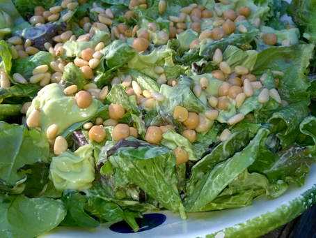 Delicious Chickpea and Avocado Summer Salad