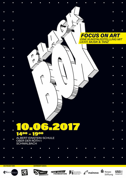 BLACK BOX // focus on art