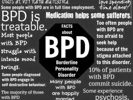 Good article. BPD in a nut shell. Spot on.