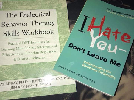 BPD therapy books. Good ones.
