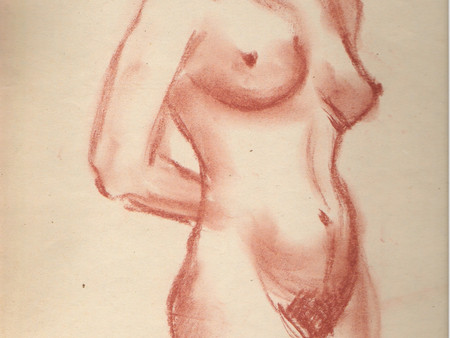 Life Drawing. Signs of improvement.