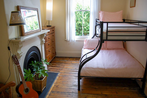 Bunk Bedroom- double + single