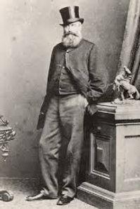 Portrait of William Cross Yuille, first European settler of Ballarat