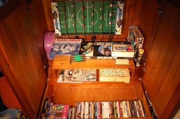 Board games+ DVDs