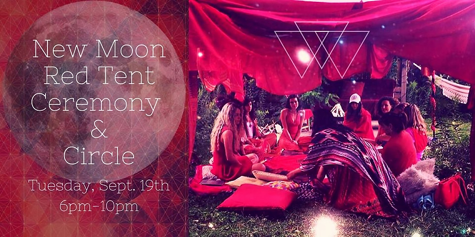 New Moon Red Tent Ceremony