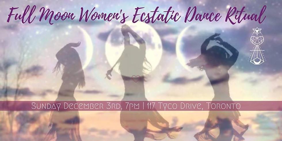 Full Moon Women's Ecstatic Dance Ritual